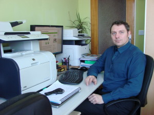 Kamil Bolek vpracovně